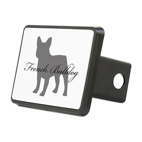 French Bulldog Rectangular Hitch Cover
