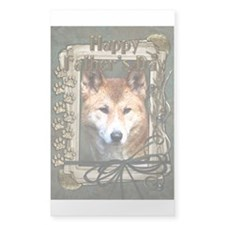 Fathers Day Stone Paws Dingo Decal