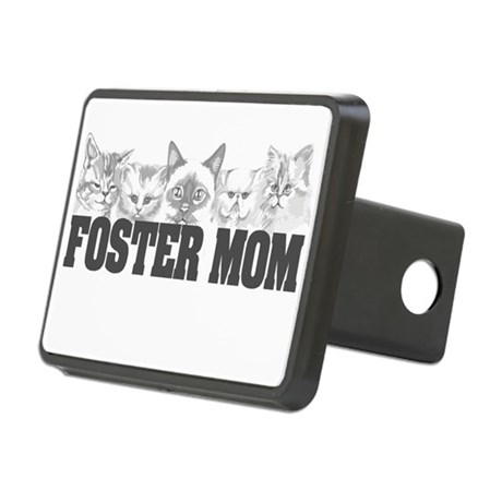 Foster Mom (cats) Rectangular Hitch Cover