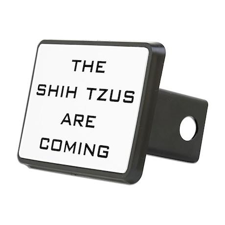 Shih Tsu are Coming! Rectangular Hitch Cover