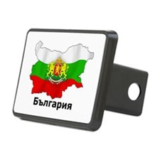 Bulgaria flag map Hitch Cover