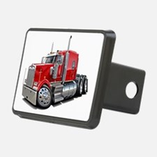 Kenworth W900 Red Truck Hitch Coverle)
