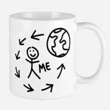 The World Revolves Around Me Mug