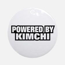 POWERED BY KIMCHI Ornament (Round)