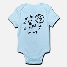 The World Revolves Around Me Infant Bodysuit