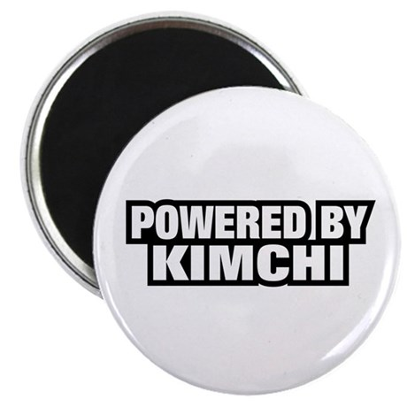 """POWERED BY KIMCHI 2.25"""" Magnet (10 pack)"""