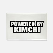 POWERED BY KIMCHI Rectangle Magnet (10 pack)