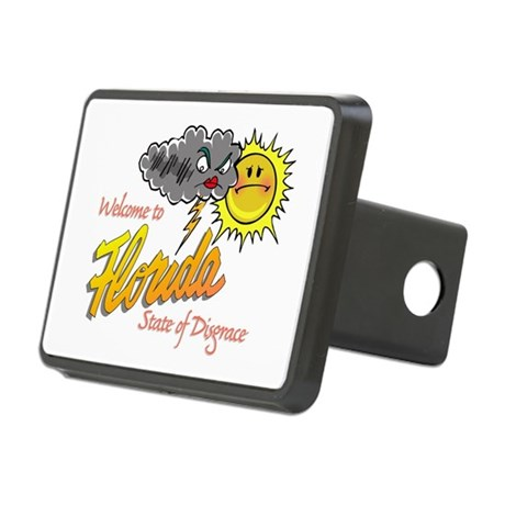 State of Disgrace Rectangular Hitch Cover