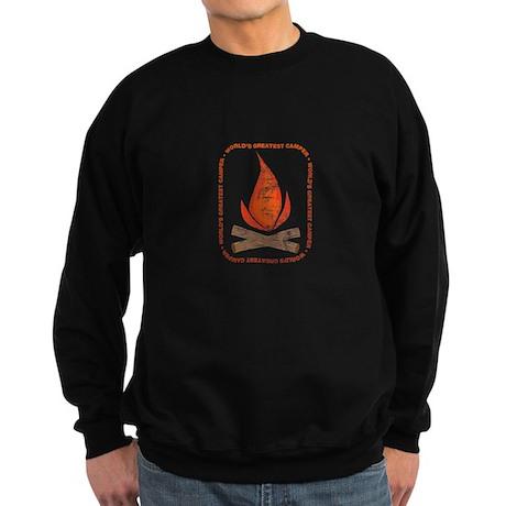 World's Greatest Camper Sweatshirt (dark)