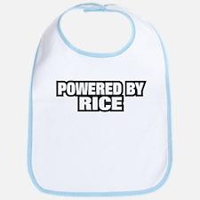 POWERED BY RICE Bib