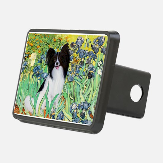 Irises & Papillon Hitch Cover