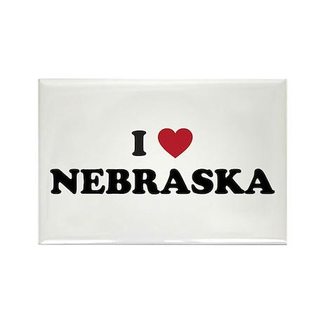 Nebraska.png Rectangle Magnet (10 pack)