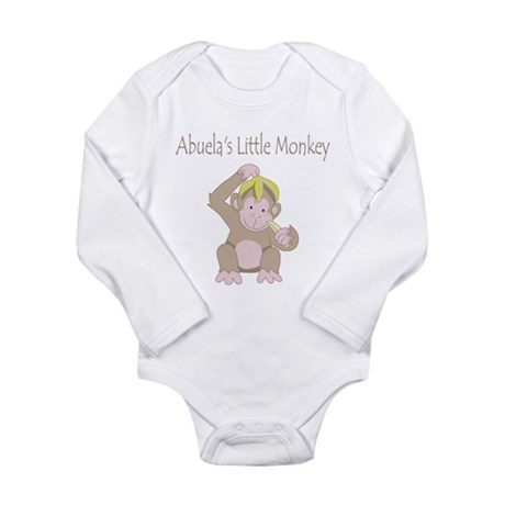 Abuelas Little Monkey Body Suit