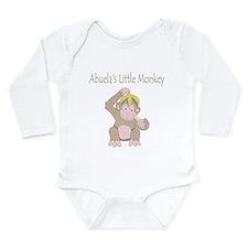 Abuelas Little Monkey Body Suit