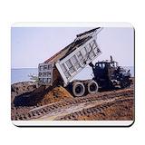 Dump trucks Classic Mousepad
