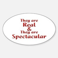 Real & Spectacular Decal