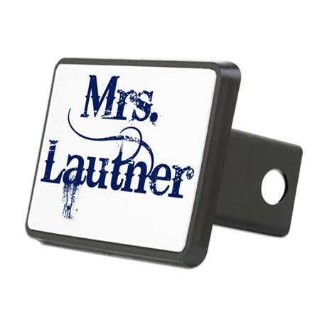 Mrs. Lautner Rectangular Hitch Coverle)