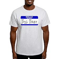 Big Baby Ash Grey T-Shirt