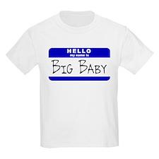 Big Baby Kids T-Shirt