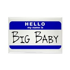 Big Baby Rectangle Magnet