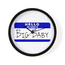 Big Baby Wall Clock