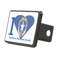 I Love Northern Marianas Hitch Cover