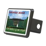 Obama 08. Works for me! Rectangular Hitch Cover