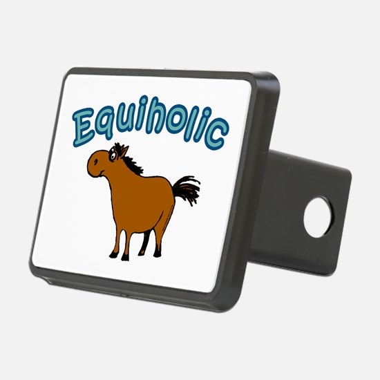 Equiholic. Horse Addict Hitch Cover