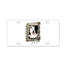 Fathers Day Stone Paws Border Collie Aluminum Lice