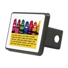 Peaceful Crayons Hitch Cover