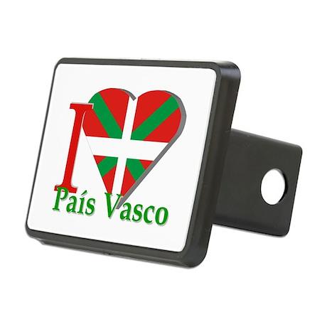I love Pais Vasco Rectangular Hitch Cover
