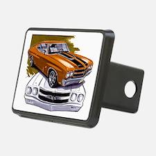 1970 Chevelle Orange-Black Car Hitch Cover