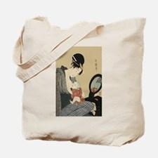 Kitagawa Utamaro Mother and Child Tote Bag