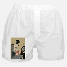 Kitagawa Utamaro Mother and Child Boxer Shorts