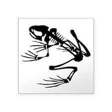 "Desert Frog - B (1) Square Sticker 3"" x 3"""