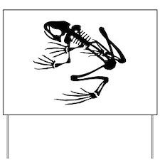 Desert Frog - B (1) Yard Sign