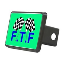 FTF green flag Hitch Cover