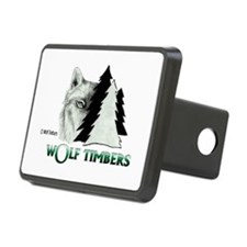 Wolf Timbers Logo Hitch Cover