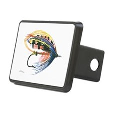 Fishing Lure Art Rectangular Hitch Cover