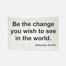 Gandhi Change Magnet