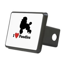 I love Poodles Hitch Cover