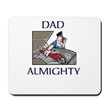Dad Almighty Mousepad