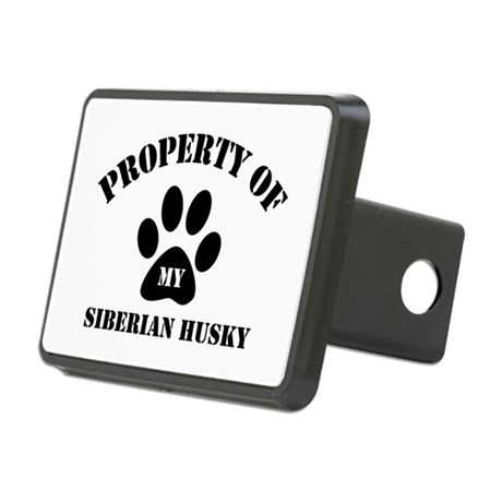 My Siberian Husky Rectangular Hitch Cover
