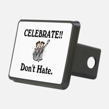 Celebrate Gay Marriage Hitch Cover