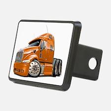 Peterbilt 587 Orange Truck Hitch Cover