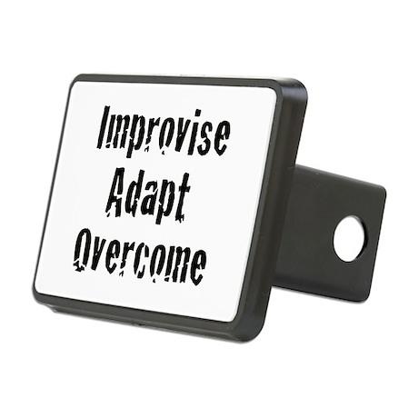 Improvise. Adapt. Overcome Rectangular Hitch Cover