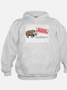 Northern White Rhinoceros Hoodie