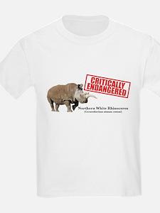 Northern White Rhinoceros T-Shirt