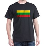 Lithuania Lithuanian Flag Dark T-Shirt