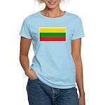 Lithuania Lithuanian Flag Women's Pink T-Shirt